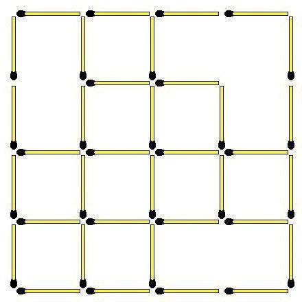 wie viele quadrate siehst du