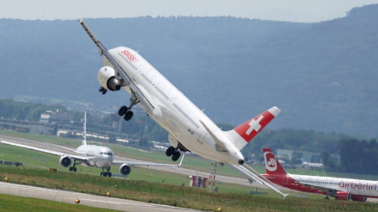 Durchstarten Flugzeug
